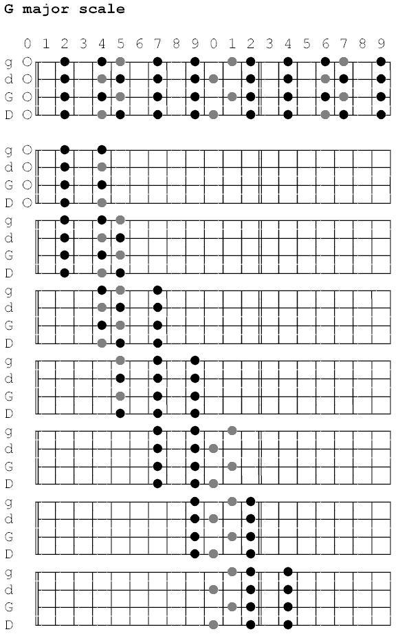 Banjo Fretboard Diagram Block And Schematic Diagrams